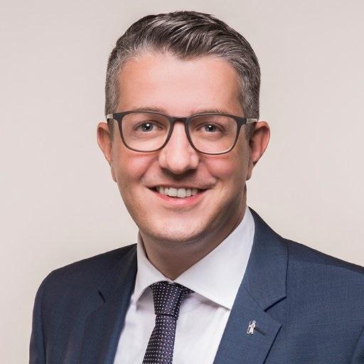Festredner und oberster Chef des Landesbibliothek Regierungsrat Benjamin Mühlemann, Departement Bildung und  Kultur.
