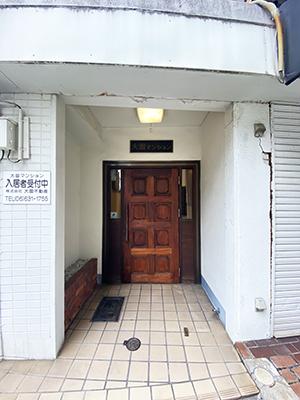 マンション入口
