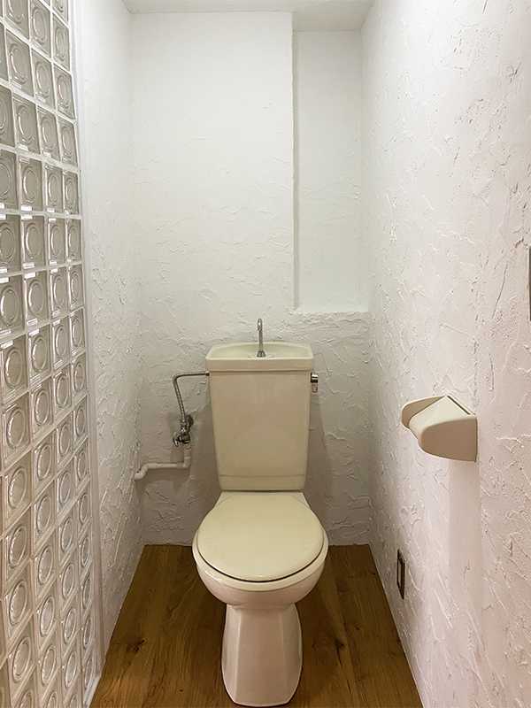 トイレ内部