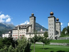 Chateau de Stockalper, Brigue, Valais