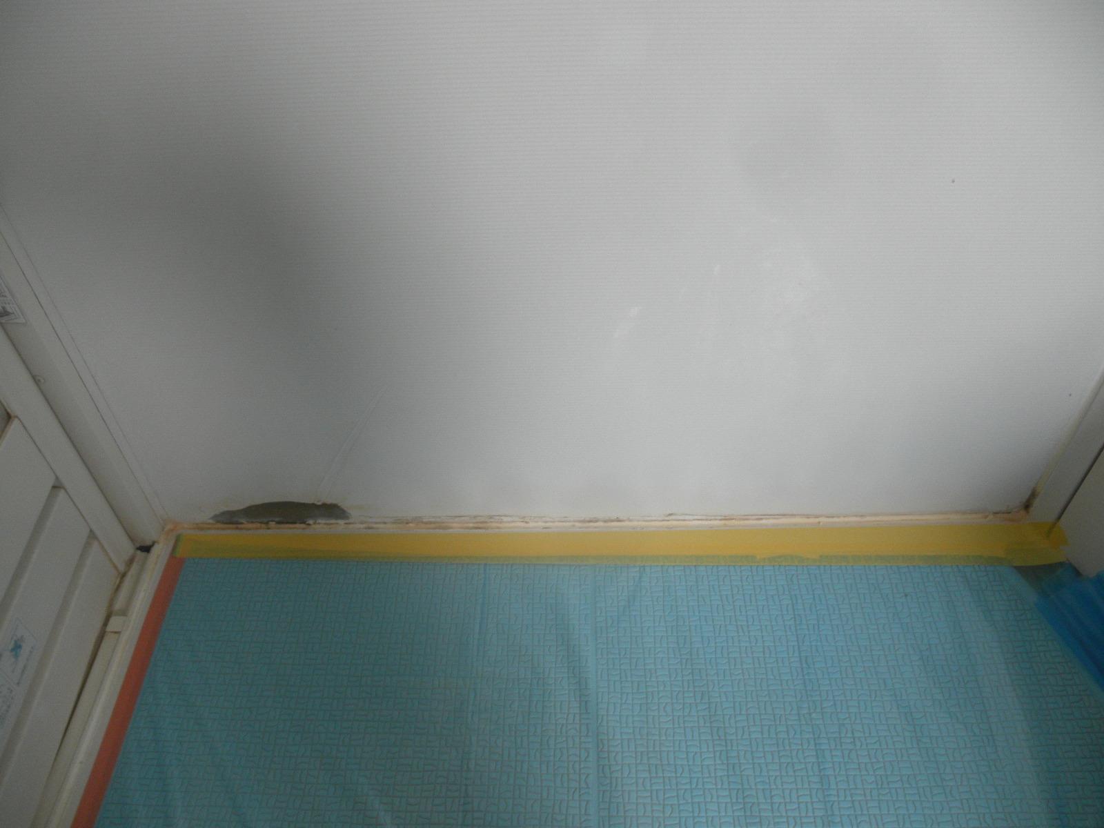 一般住宅ユニットバス 壁面フィルム経年劣化による浮き、剥がれ修理 広島県尾道市新高山
