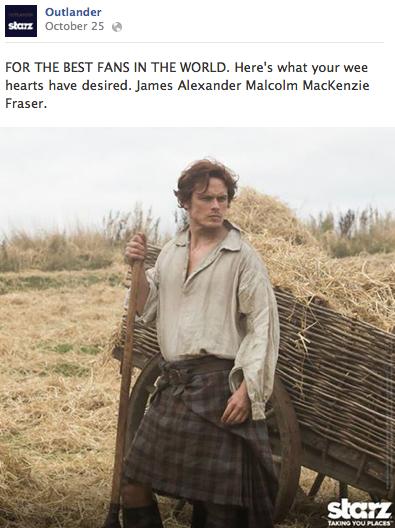Quelle: www.facebook.com/OutlanderTVSeries.starz