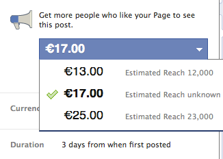 Promoted Posts - Facebooks neues Geschäftsmodell