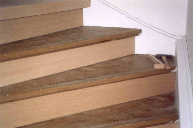 Aus Alt mach Neu Treppe
