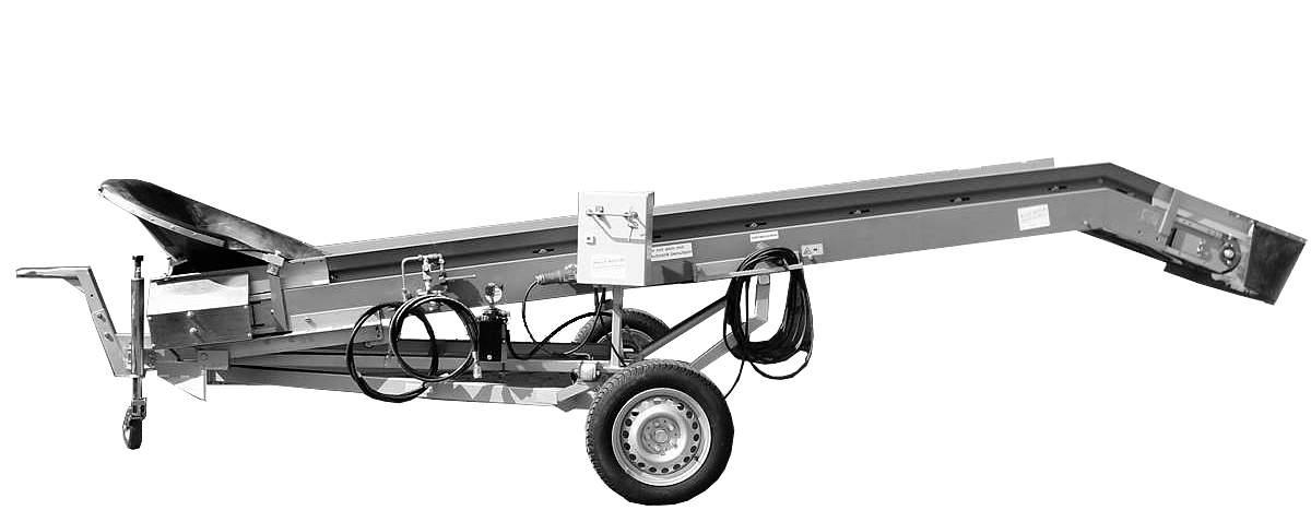 Hydraulik/Elektro Förderband