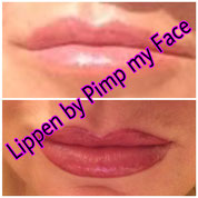 Permanent Make Up Lippen - Pimp my Face Hamburg Bramfeld vorher-nachher - Schulungen