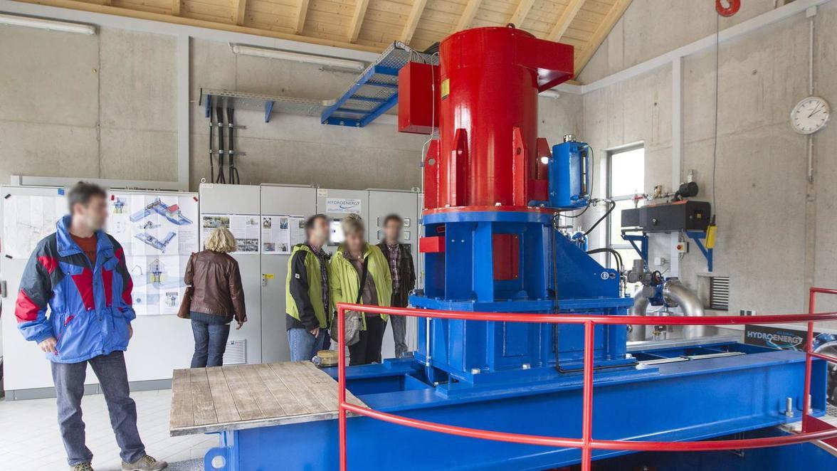 Turbinenanlage von 2012