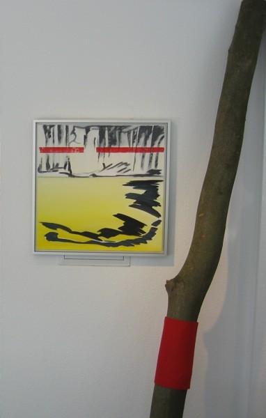 """bleeding trees"" in der Galerie Ramex"