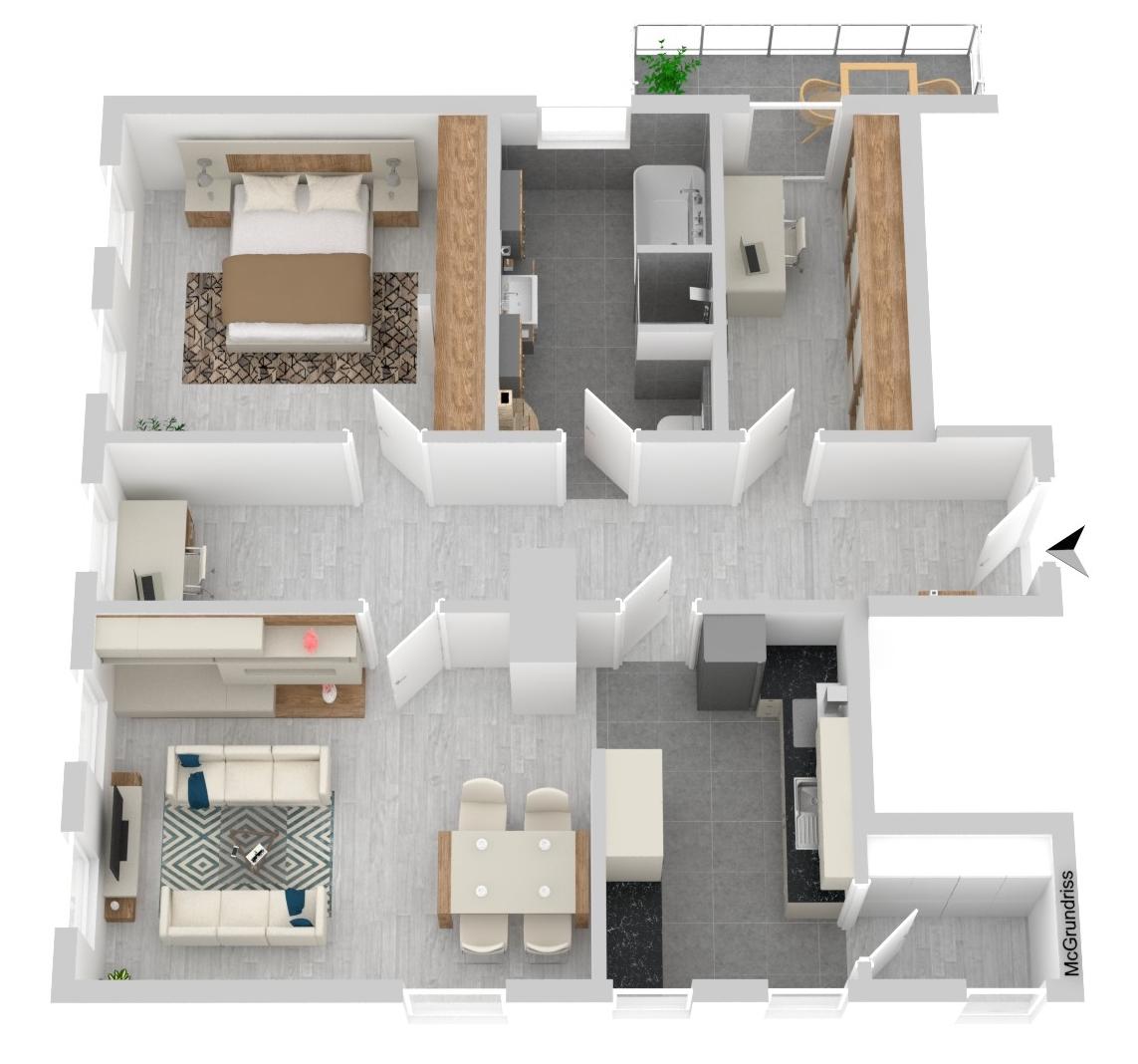 Wohnung Nr. 4 (98,77 m²)