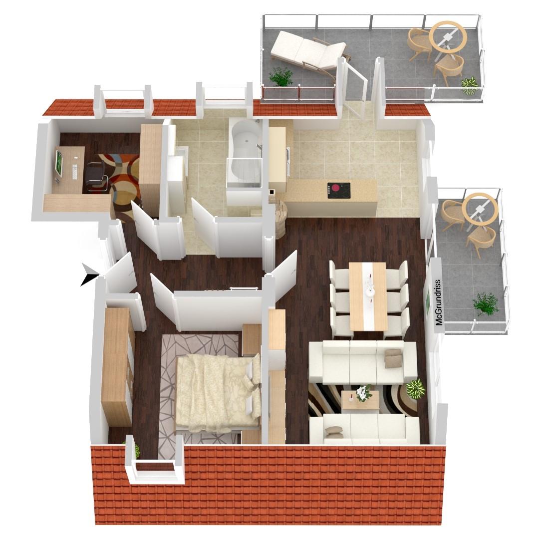 Wohnung Nr. 7 (78,87 m²)