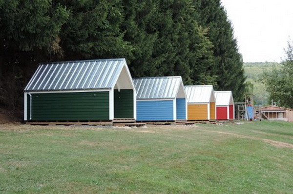 WoodyTramp Campinghütte an der Ulmbachtalsperre