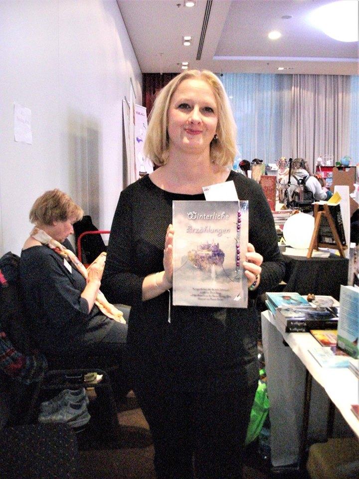 Buchmesse BuchBerlin 2018, Karina-Verlag, Nicol Lange