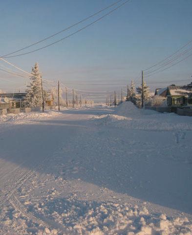 Winter in Schönfeld (Dobroje Pole) in Sibirien. Für mich als Kind war es eine tolle Jahreszeit. Der Winter in Omsk, wo ich als Erwachsene lebte, sah allerdings ganz anders aus ...