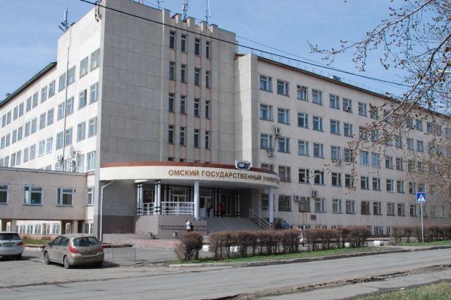 In diesem Gebäude der Staatlichen Universität Omsk befindet sich auch die Wissenschaftliche Bibliothek, in der ich die letzten zehn Jahre vor meiner Ausreise nach Deutschland gearbeitet hatte.