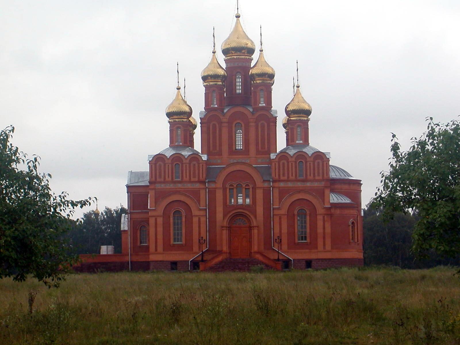 Dieser imposante Bau des Klosters war noch nicht ganz fertiggestellt.