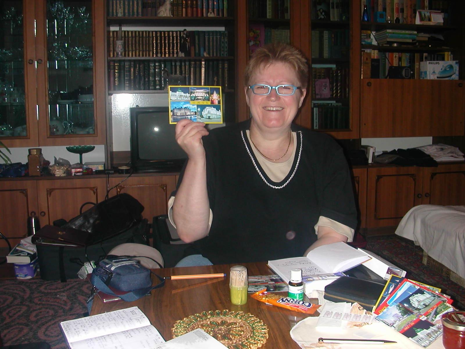 Urlaubskarten, die allerdings erst Wochen später in Deutschland ankamen