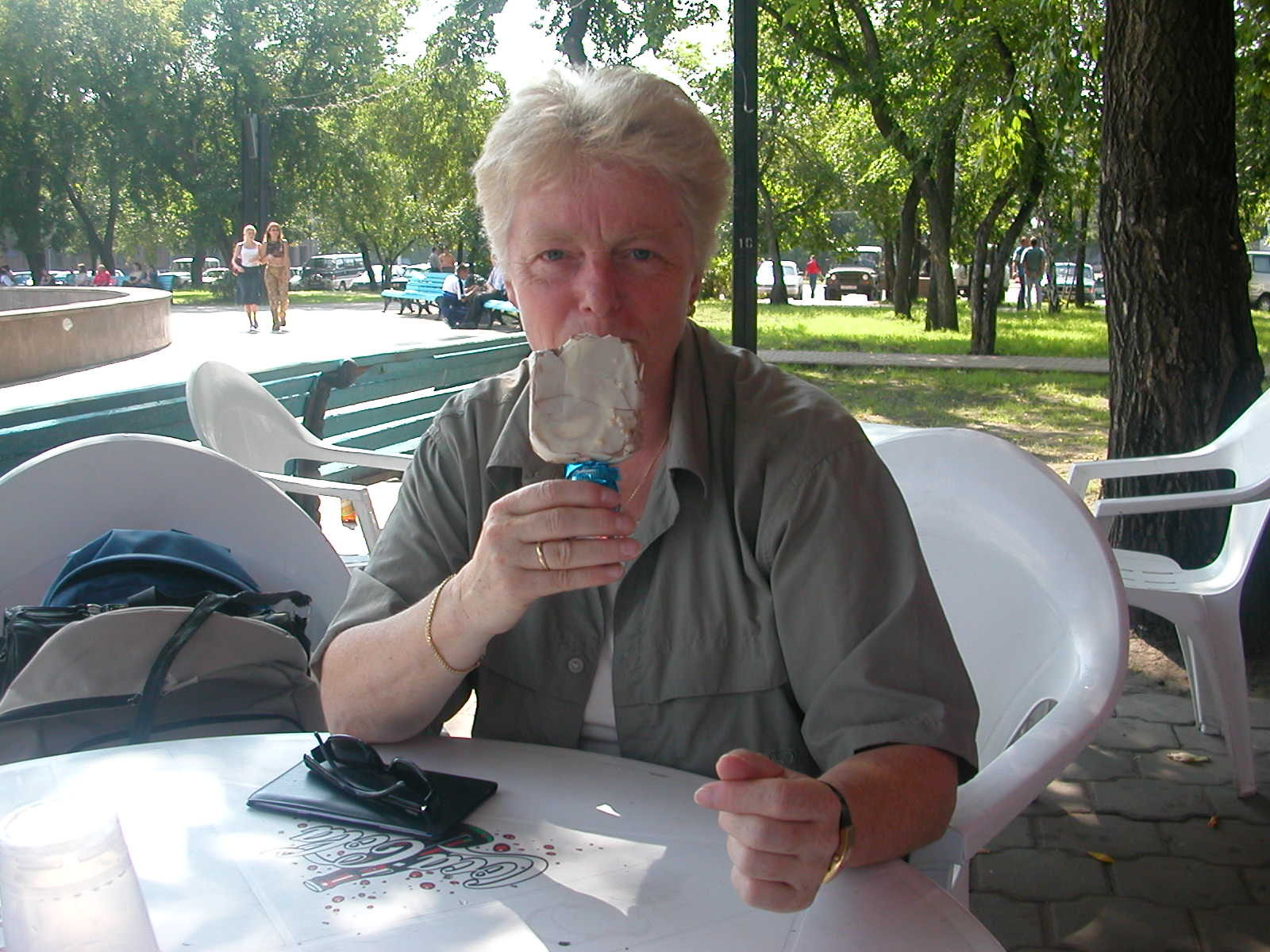 ... schmeckt immer, sowohl in Iserlohn, als auch in Omsk
