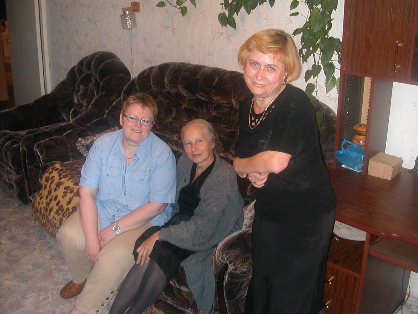 Mit Nadja und Vera