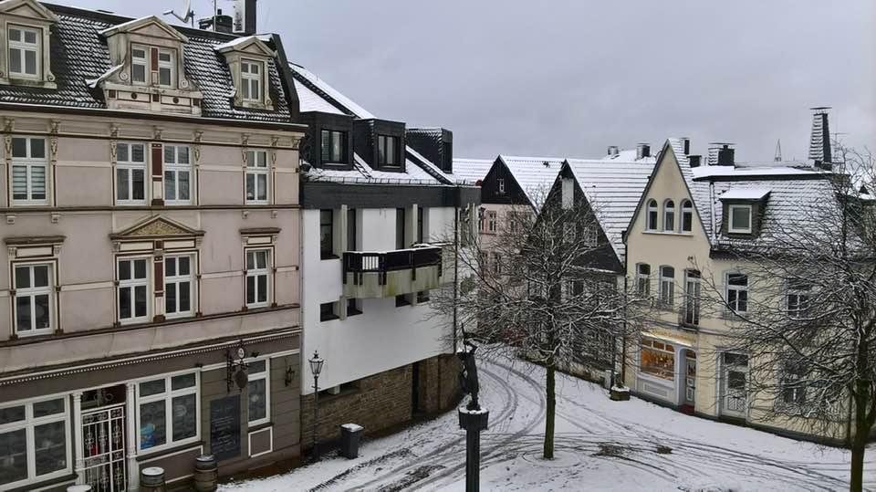 Ausblick aus dem Büro, Stadtbücherei Lüdenscheid, 2016
