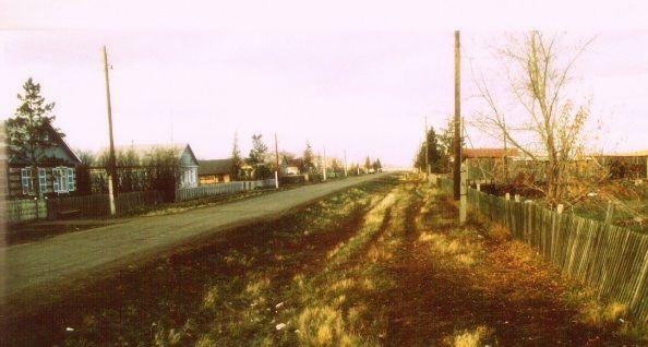 Die Straße meiner Kindheit, allerdings erst Jahrzehnte später aufgenommen