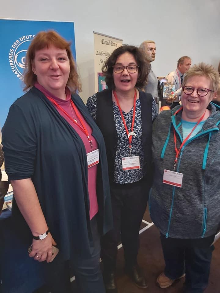 Carola Juercholt, Larissa Rode und Rosa Ananitschev (BuchBerlin 2019)