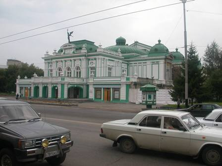 Drama Theater in Omsk, 2003