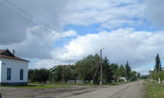 Die Straße meiner Kindheit (Dobroje Pole / Schönfeld)