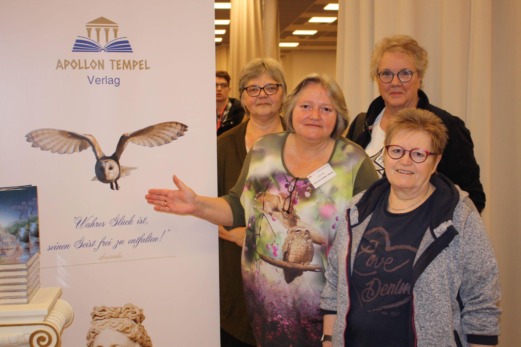 Buchmesse BuchBerlin 2018, Apollon Tempel Verlag