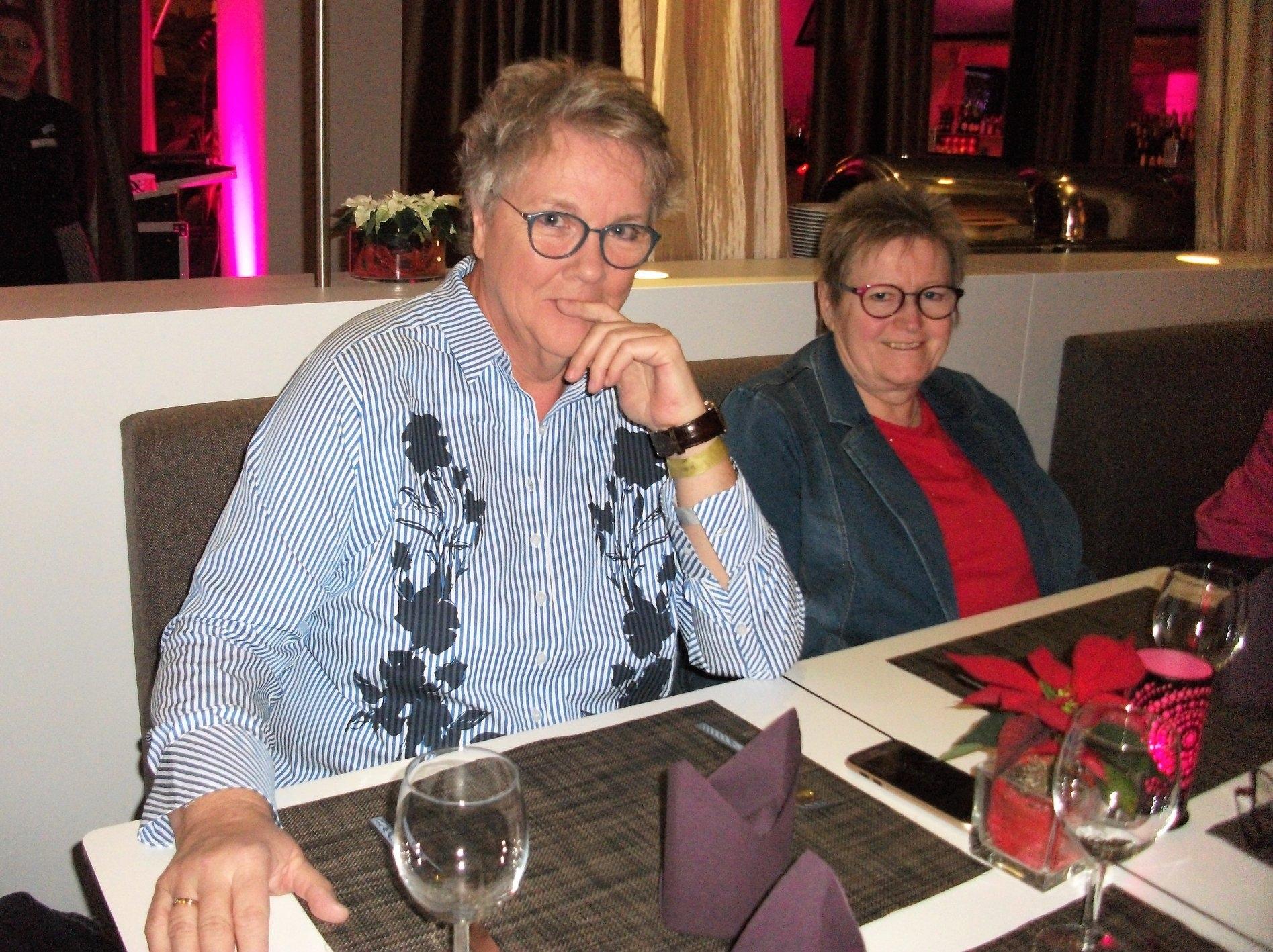 Buchmesse BuchBerlin 2018, Autoren-Abend, Dagmar Roder und Rosa Ananitschev