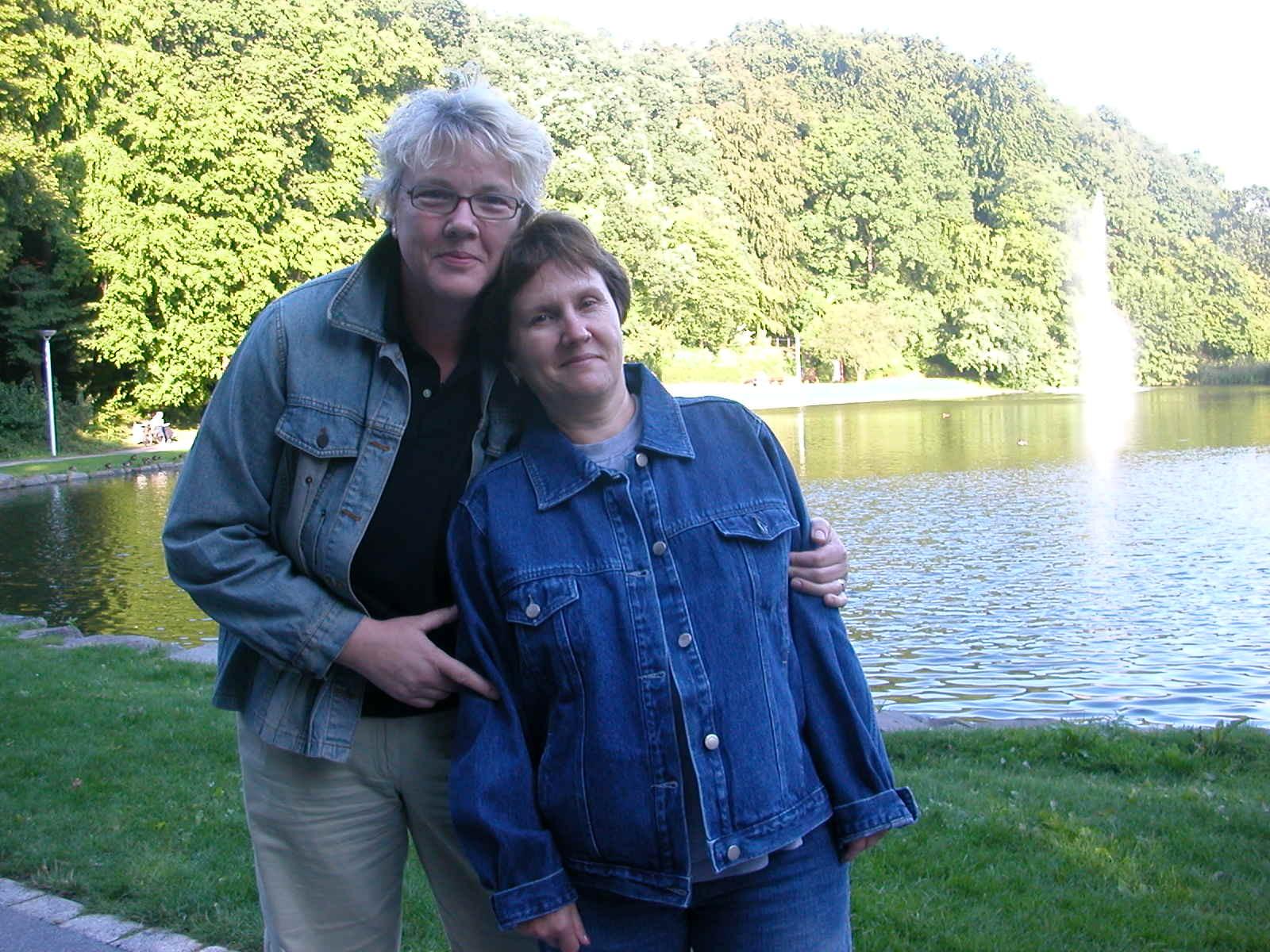 Mit Olga am Seilersee