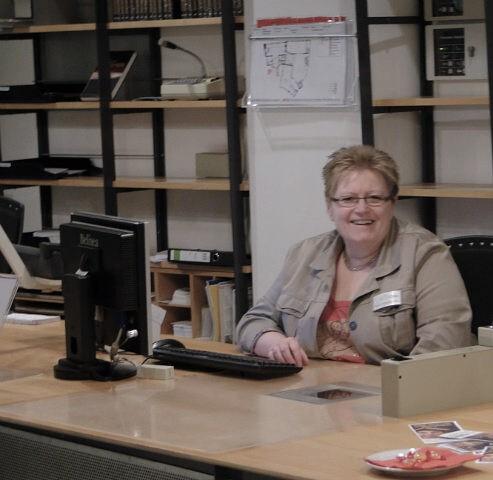 In der Stadtbücherei Lüdenscheid, 2011