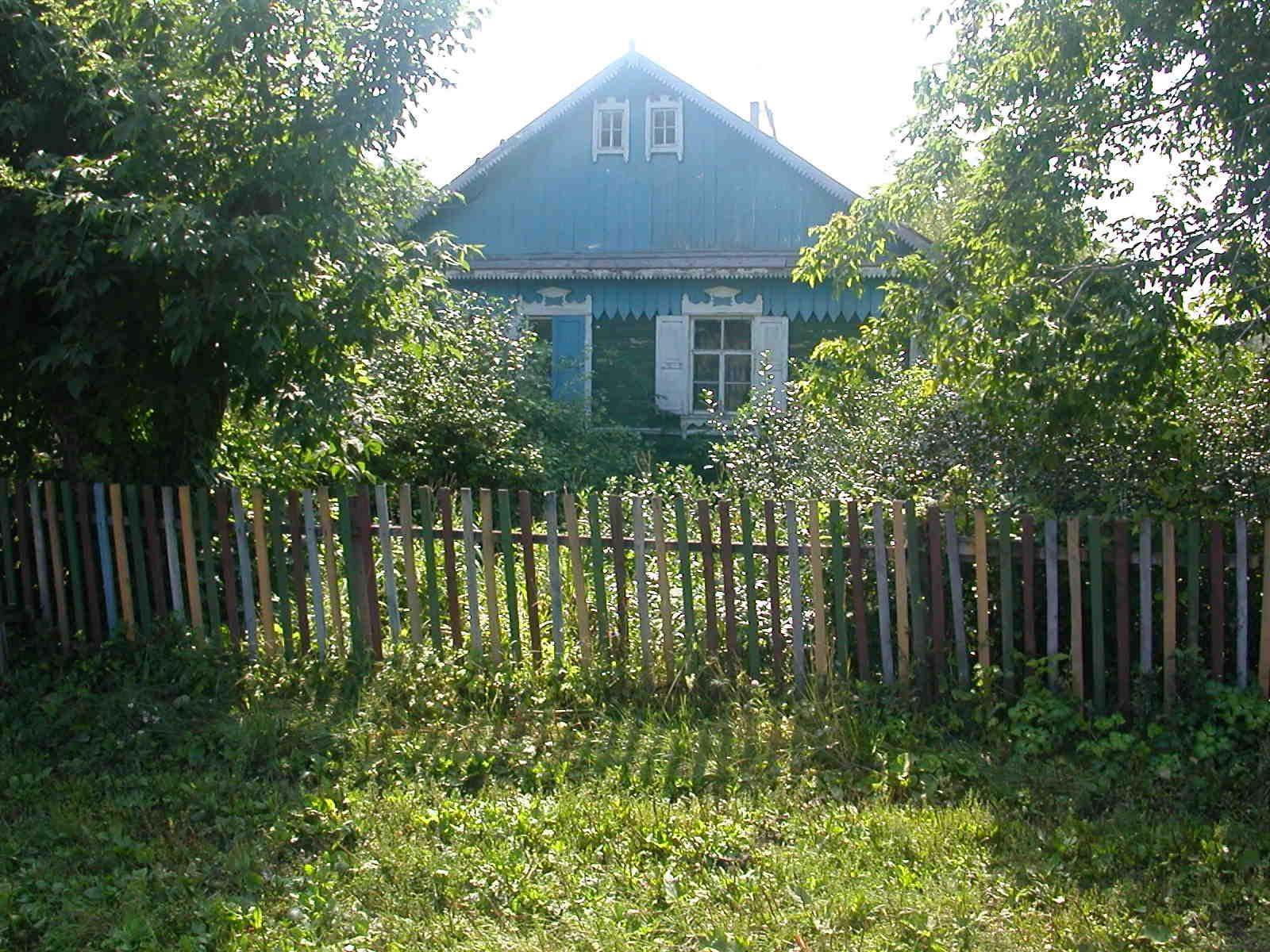 ... steht  dieses Haus, vom Vater 1962 gebaut.
