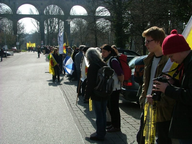 Hier in Bietigheim-Bissingen nahe dem Viadukt