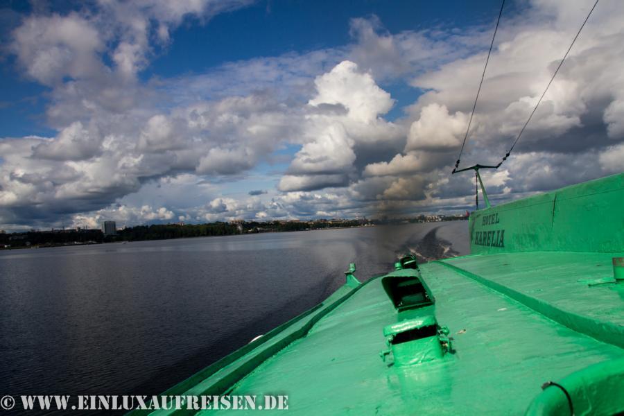 Überfahrt Tragflächenboot
