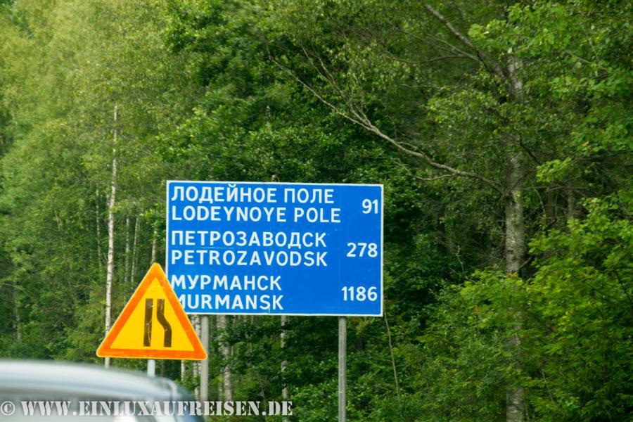 Wir sind schon fast in Murmansk =D