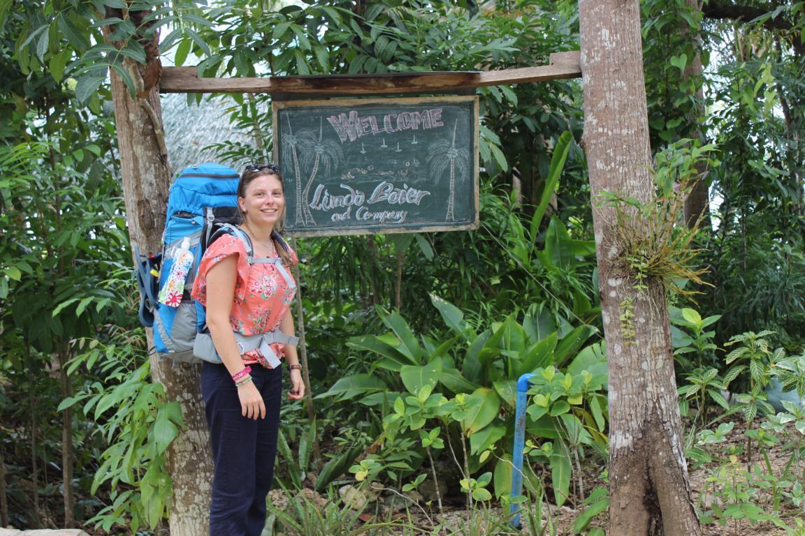 Wenn man so nett begrüßt wird =) (Philippinen, Siquijor)