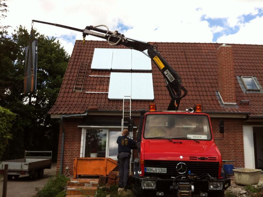 Solaranlage montieren