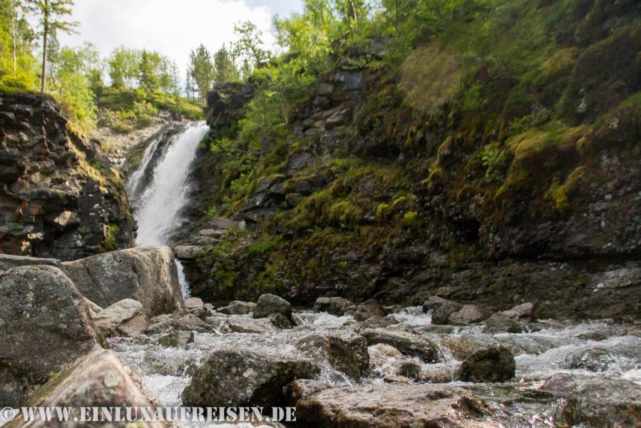 Wasserfall bei Kirowsk