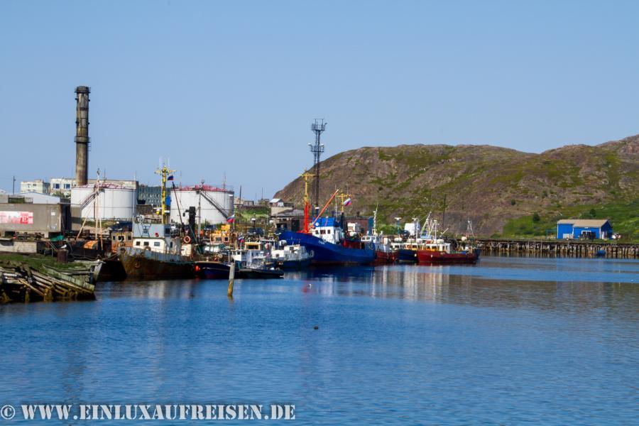 Hafen Teriberka