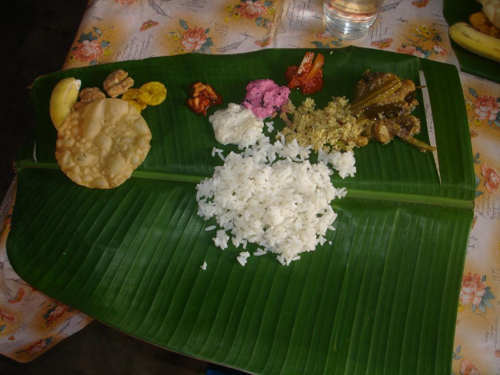 Sich zum Essen einladen lassen! (Indien)