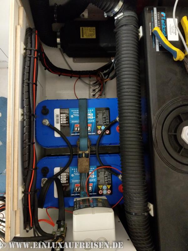 Batterieeinbau