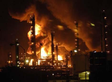 auditorias accidentes rayos en ambientes de atmosferas explosivas ATEX