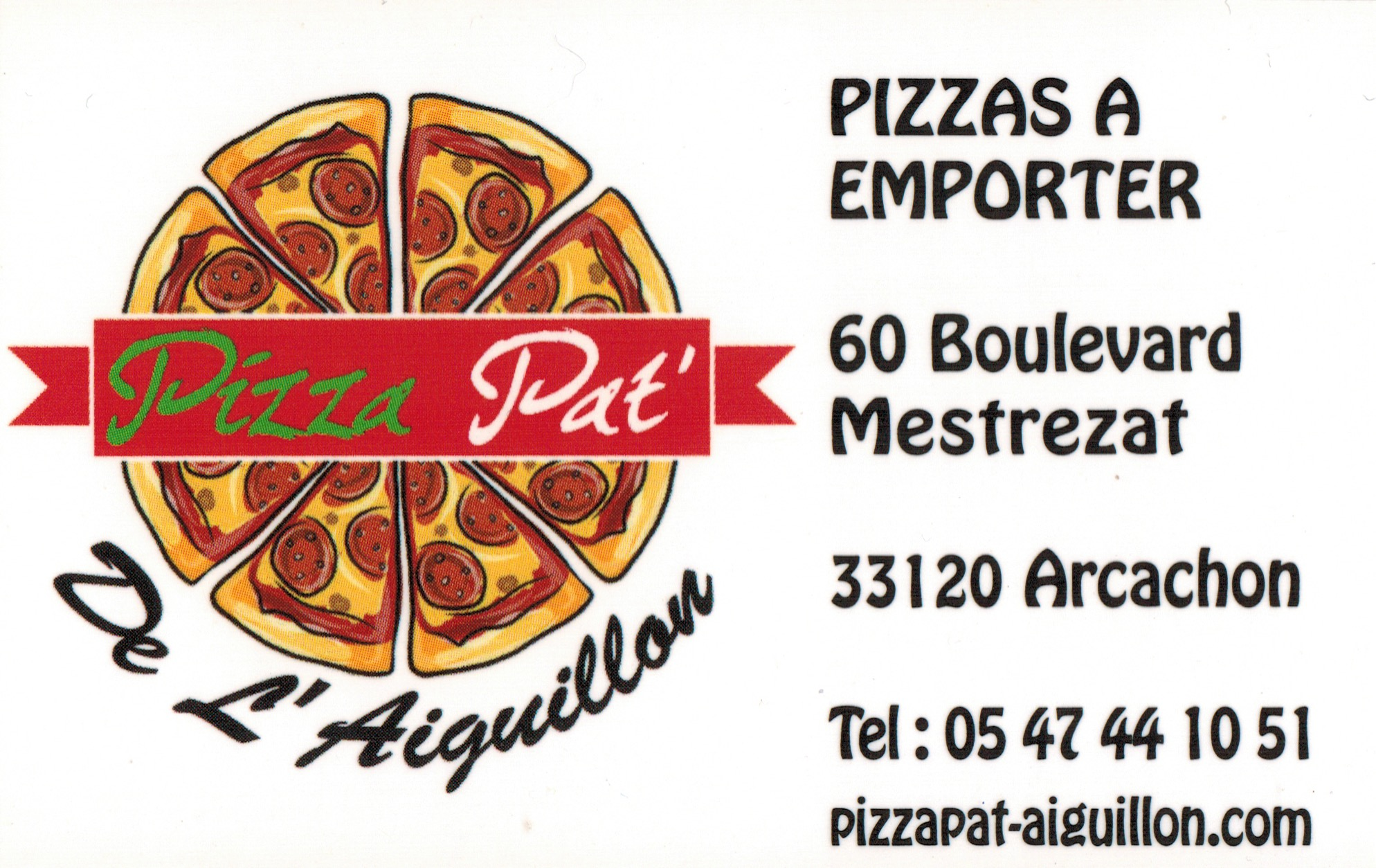 Pizza Pat' De l'Aiguillon