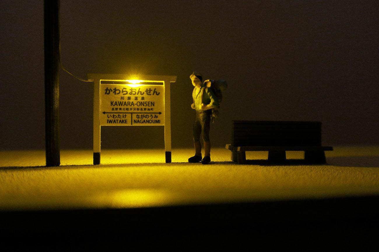LED駅名標