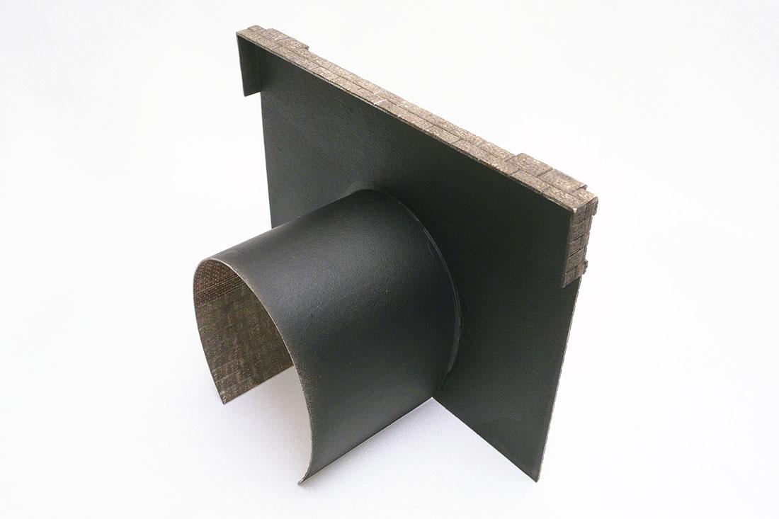 内壁・天板・側板の一部がつき、レイアウトの壁にスムーズに繋げられます。