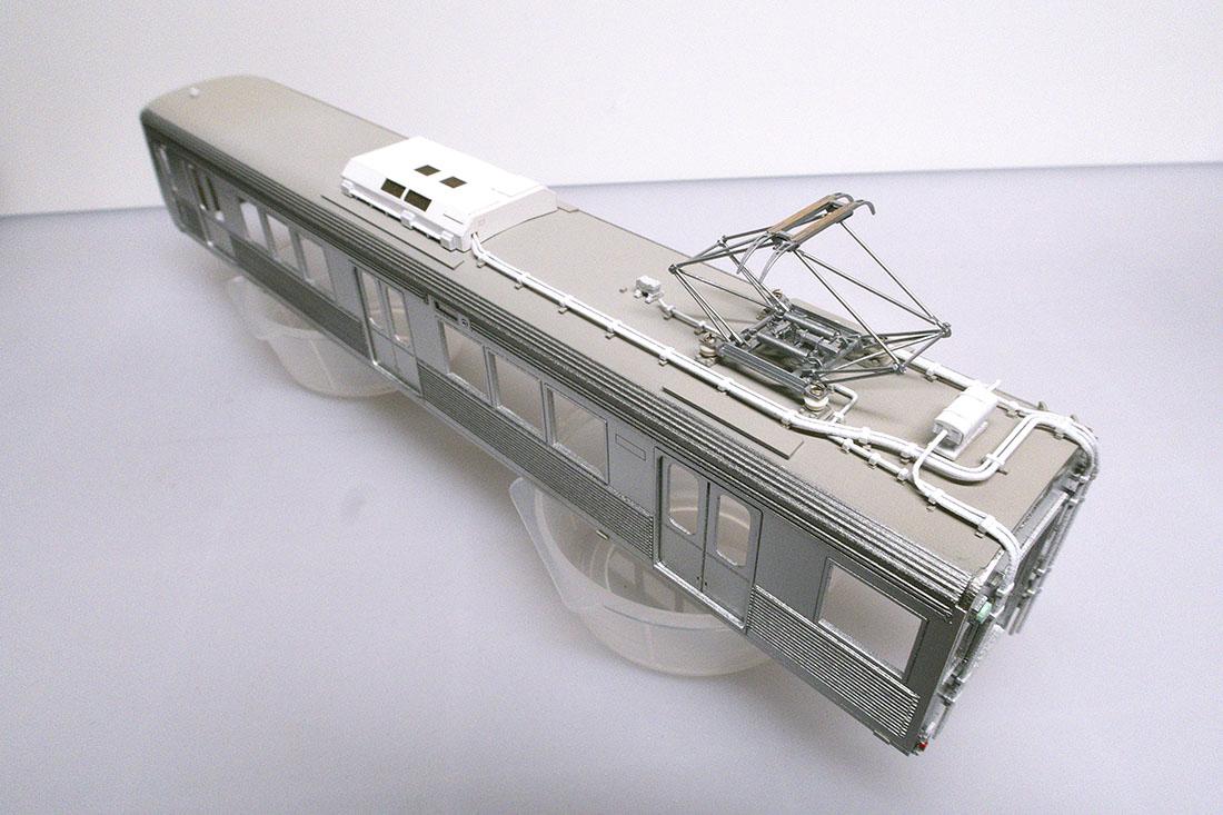 azusacraft初の車両キットを開発中です パンタ以外は全て紙パーツです!