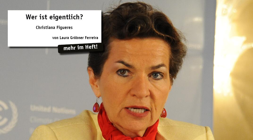 In jeder Ausgabe stellt matices eine besondere Persönlichkeit aus Spanien, Portugal oder Lateinamerika vor. Dieses Mal: Christiana Figueres, costa-ricanische Diplomatin und ehemalige Generalsekretärin der UN-Klimarahmenkonvention.