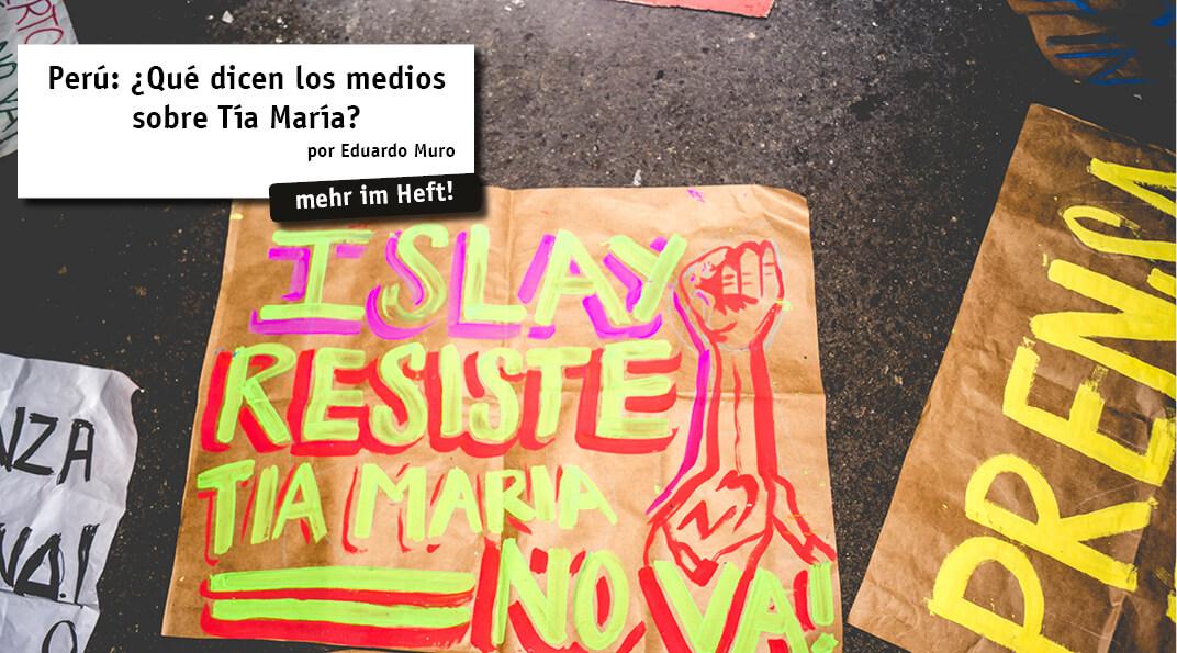 El conflicto socioambiental de Tía María en el Valle del Tambo (Arequipa) no solo ha polarizado a los principales actores involucrados, sino que también a los medios de comunicación: