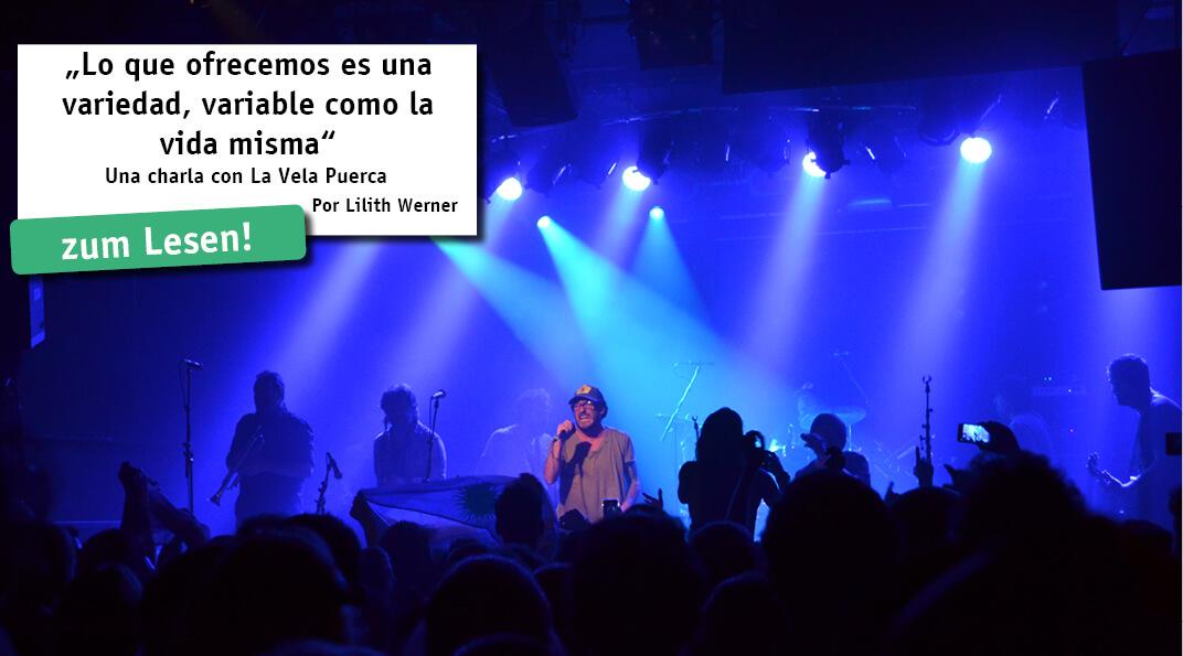 Tocando en los estadios más grandes de América Latina, 23 años de trayectoria, varias giras por Europa y 7 álbumes - el éxito de la banda uruguaya La Vela Puerca aún continúa.