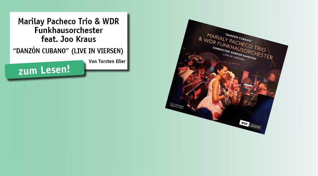 """Im September 2017 erlebten die Besucher des """"31. Internationalen Jazzfestivals Viersen"""" kubanische Musik im Orchestergewand: Die Pianistin Marialy Pacheco hatte Klassiker und Eigenkompositionen für das WDR-Funkhausorchester (FHO) arrangiert..."""